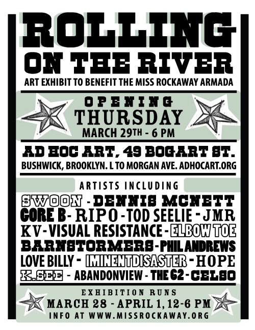 Miss Rockaway Art Benefit Show