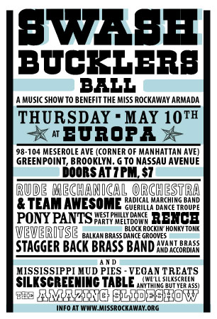 Swashbuckler's Ball Miss Rockaway Benefit at Club Europa
